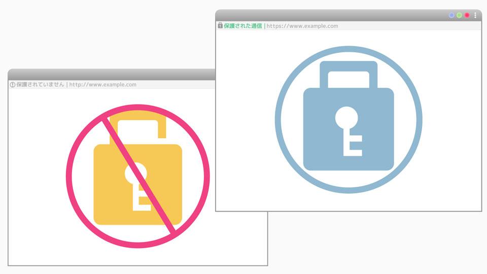 7月24日リリース予定:Chrome68から全てのHTTPサイトを警告表示へ