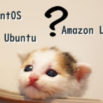 [AWS]新設サーバーはAmazon Linux,CentOS,Ubuntuのどれが良いか考える