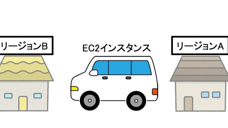 [AWS]EC2インスタンスを別リージョンにコピーする